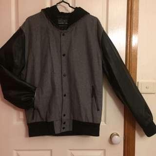 XL Hooded Bomber Jacket