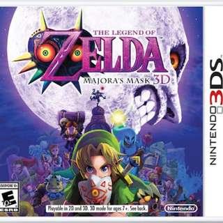 The Legend Of Zelda: Majora's Mask 3DS (US Version)