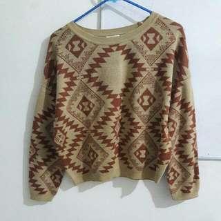 Cache Cache Casual Aztec Sweater