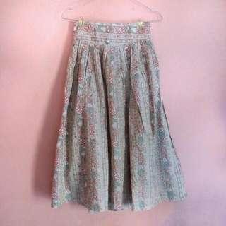 REPRICE - Vintage Midi Skirt