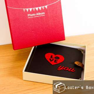 [Sold Out] Love You Valentine's Day DIY Photo Album (CAA1418)