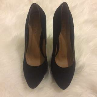 Black Therapy High Heels