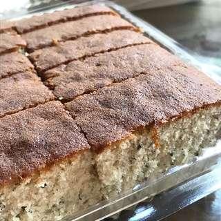 LAST 8 TO GO - Charcoal Baked Banana Cake From Hiap Joo JB