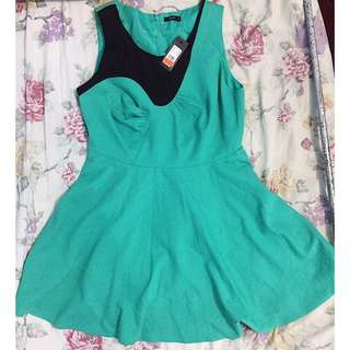 Splash Mint Green Dress