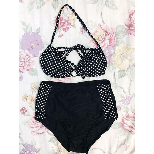 2 Piece Bikini HW undies