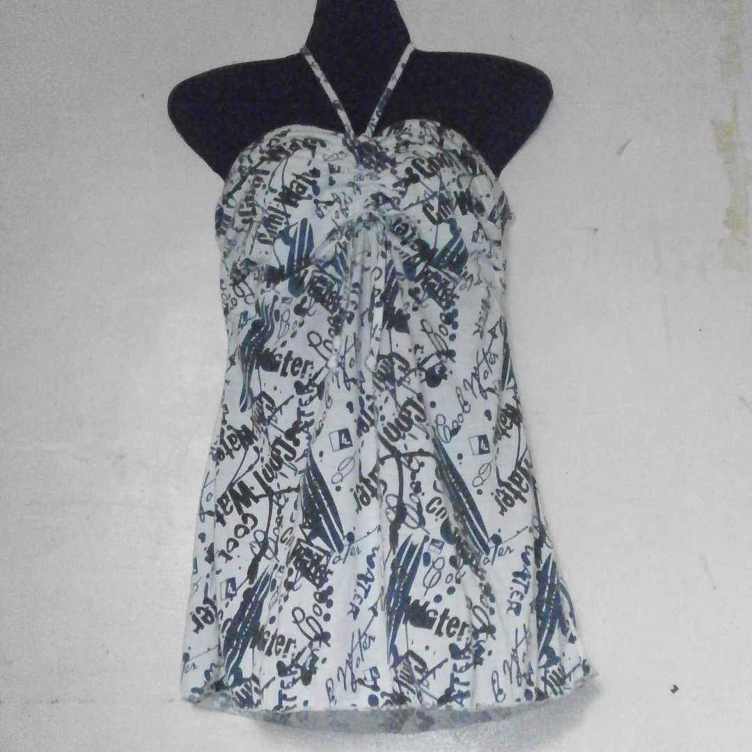2in1 Printed dress
