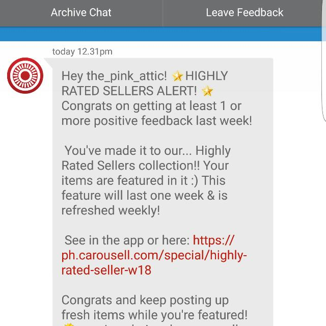 2nd Time - Thanks Carousell! 😚