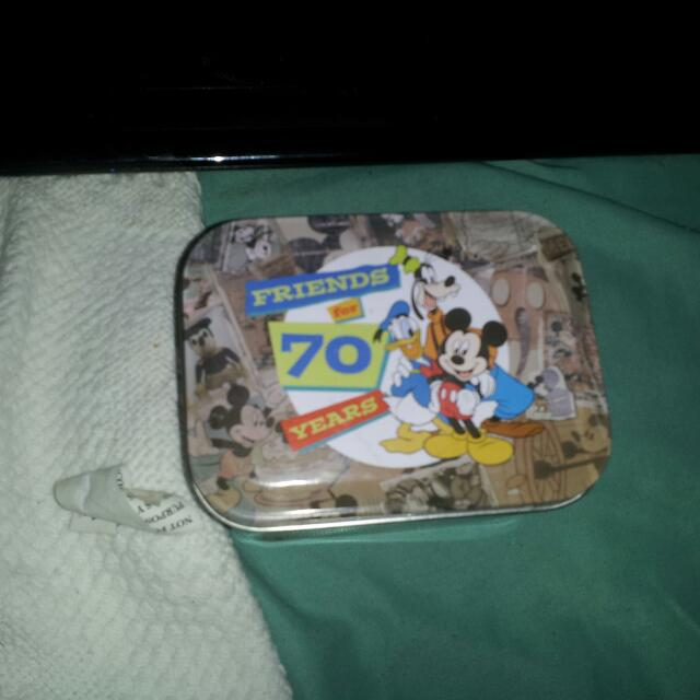 70th Anniversary Mickey Mouse watch