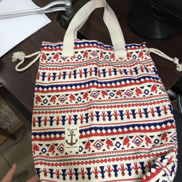 超大容量泰國手工提袋