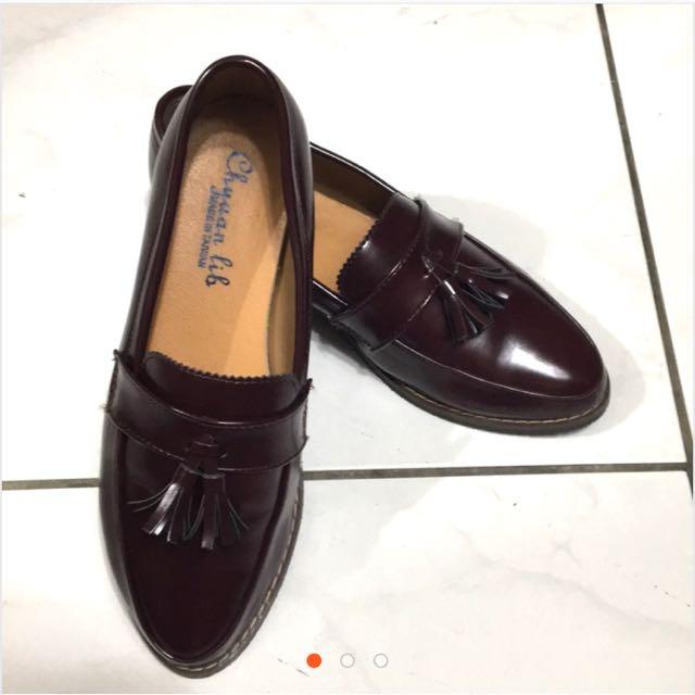 流蘇樂福鞋#五百元好女鞋