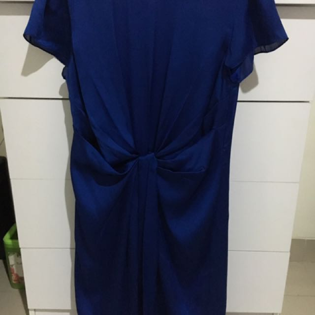 Accent BLUE Dress
