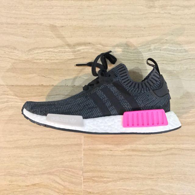 890a21297 Adidas NMD Runner R1 PK Women s Black Shock Pink