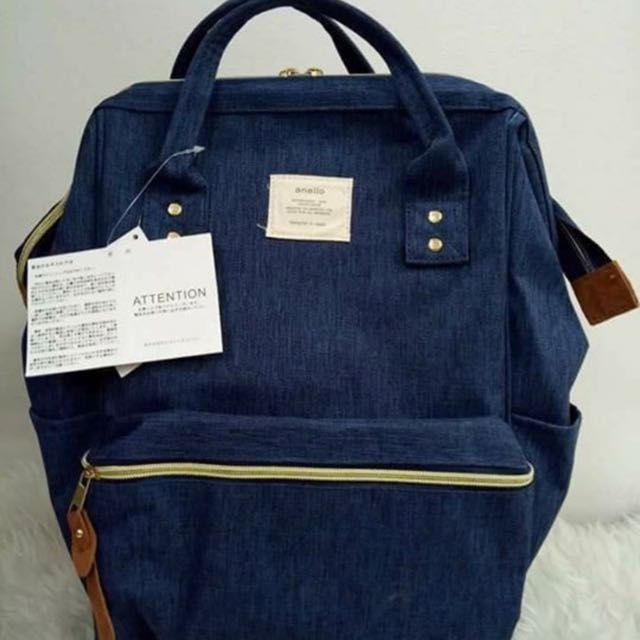 Anello Large Canvass Backpack