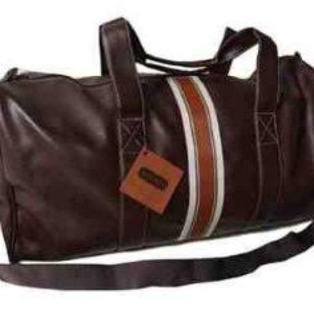 Aramis Leather Duffel Bag