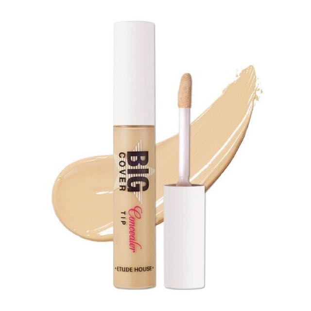 Authentic Etude House Big Cover Tip Concealer 10g