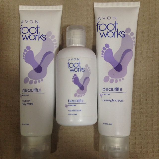 Avon Foot Creams