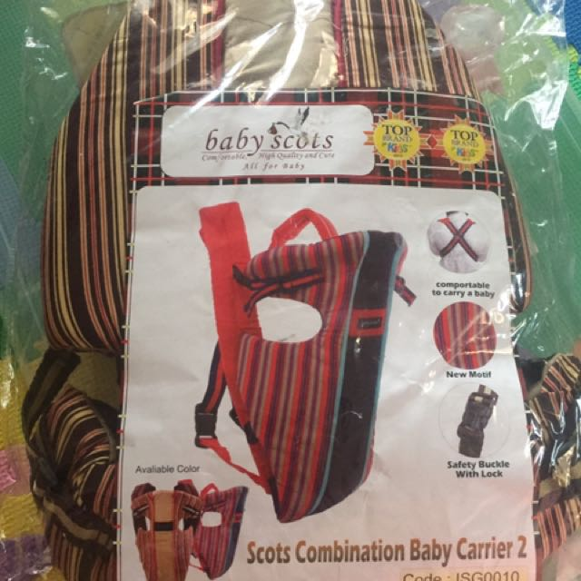 Babyscots Baby Carrier