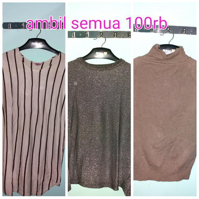 Baju Wanita 3 Hanya 100rb