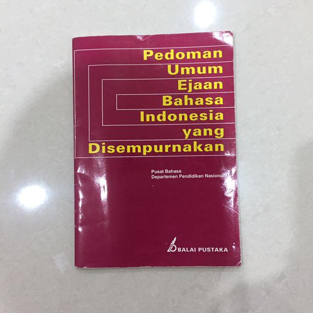 Balai Pustaka - Pedoman Umum Ejaan Bahasa Indonesia yang Disempurnakan