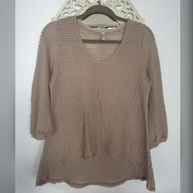 Barcelona Style Ruffle Top From Audrey