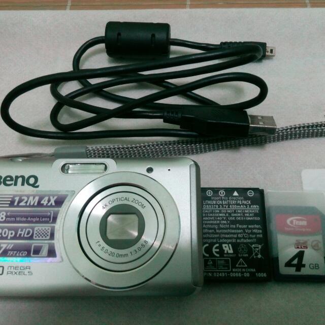 Benq  DC W 1240數位相機