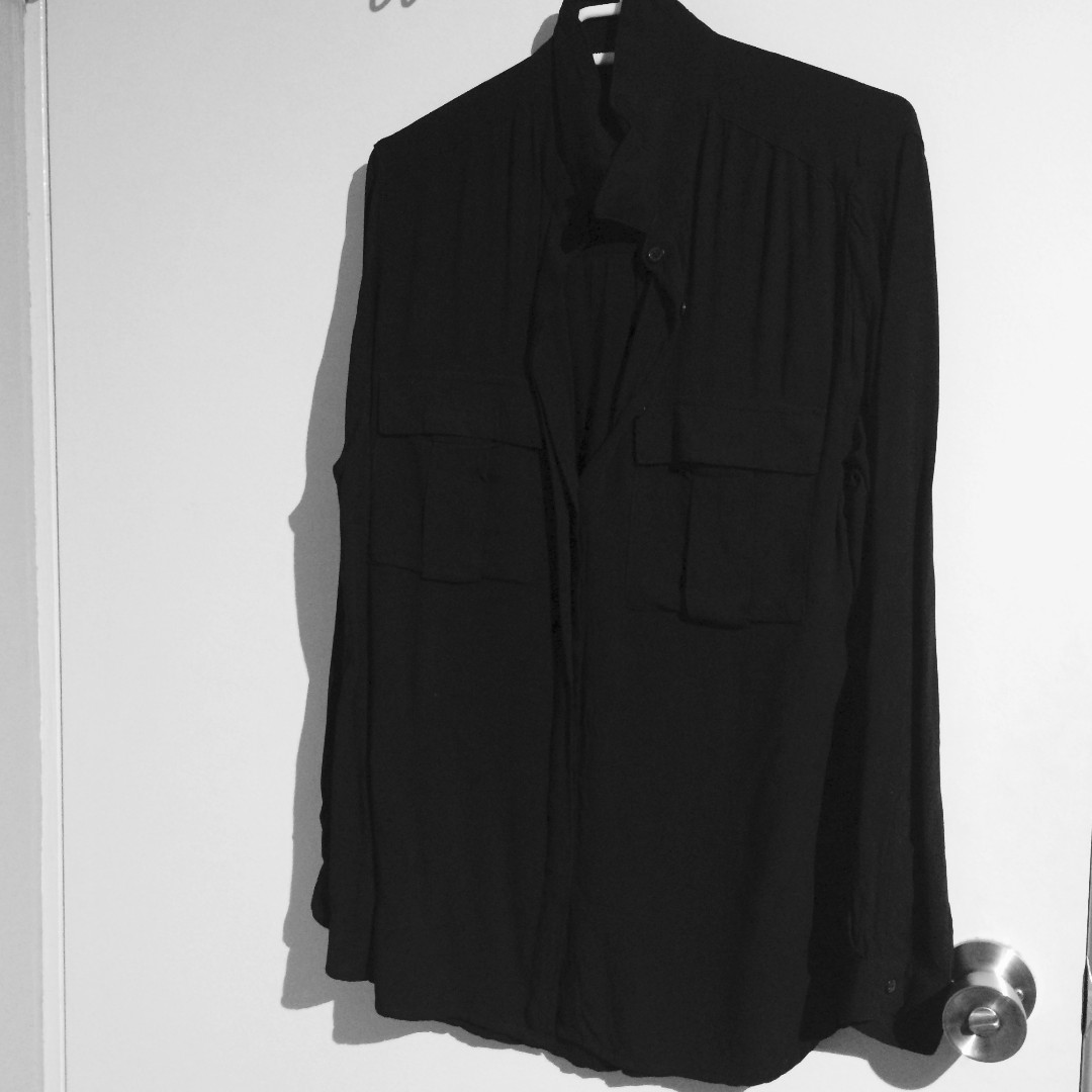 Black Shirt size 12, Have only been used once!
