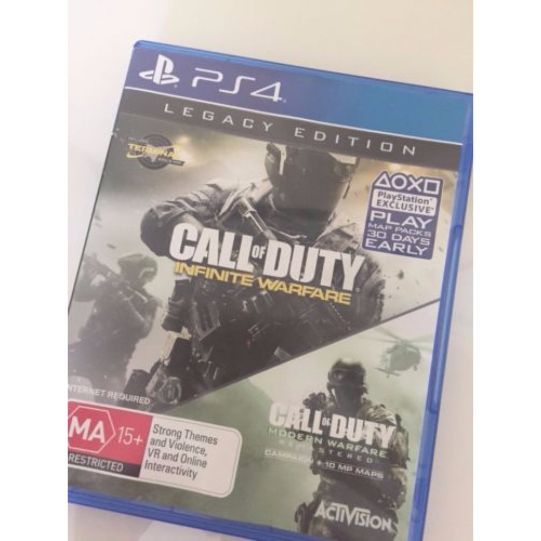 CALL OF DUTY Infinite Warfare ONLY - PS4 Playstation 4