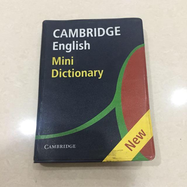 Cambridge- Cambridge English Mini Dictionary