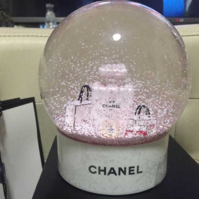 Chanel Latest Snow Globe