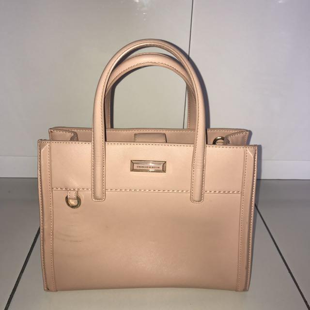 Charles & Keith Baby Pink Bag