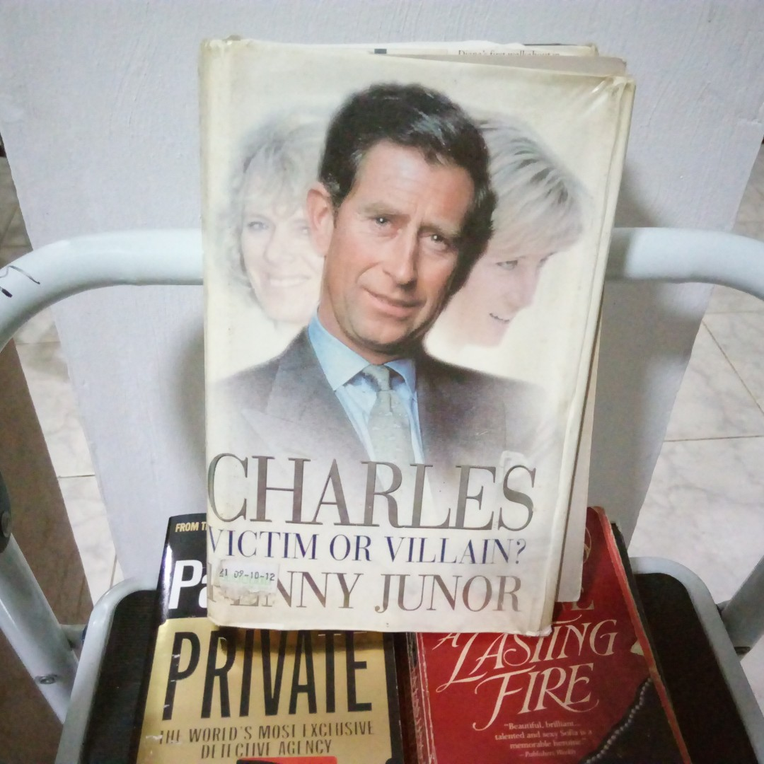 Charles Victim or Villain? by Penny Junor