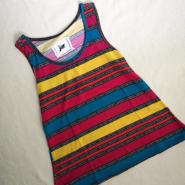 Colorful Striped Sando