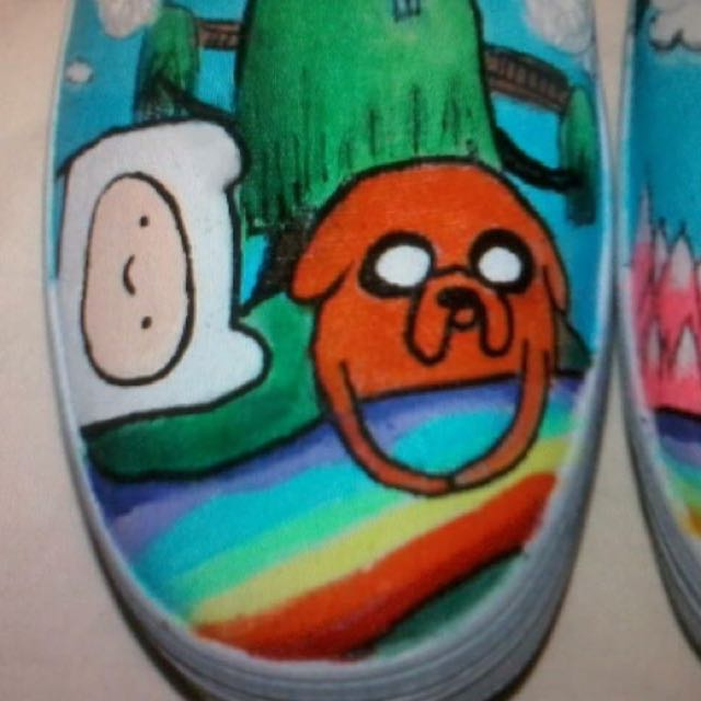Customizable Painted Shoes