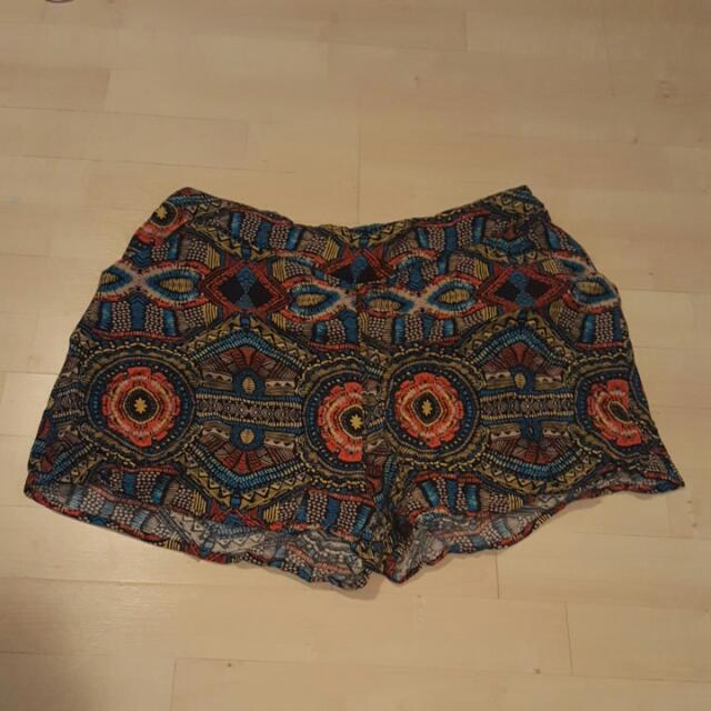 Cute Suzy Sheer Shorts With Pockets.