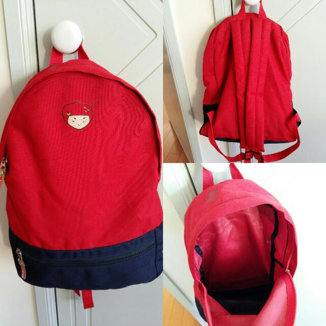 Dalkis Strawberry Girl Backpack