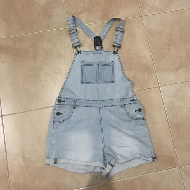 Denim Overalls - Size 12