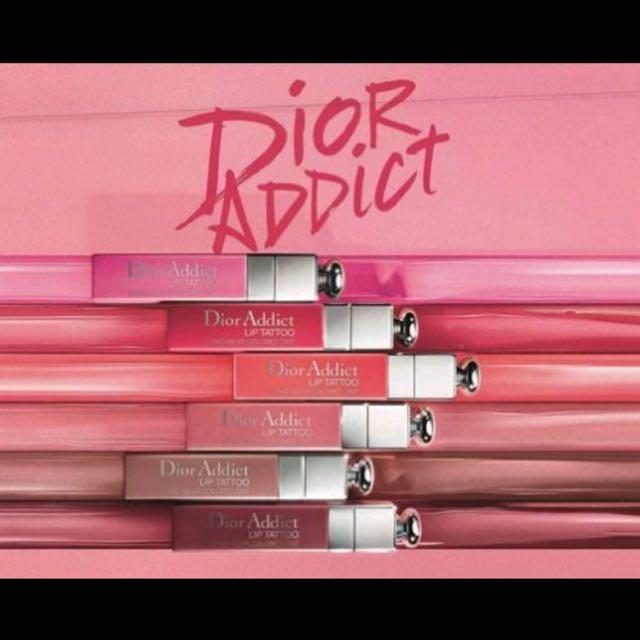 !!出清隨便賣!!全新Dior癮誘超模染唇露 #771#881