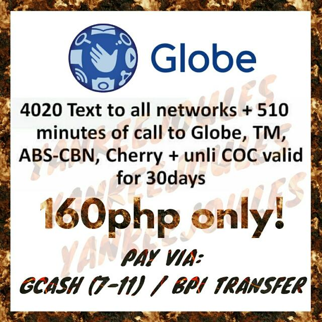 DISCOUNTED GLOBE LOAD PROMOS