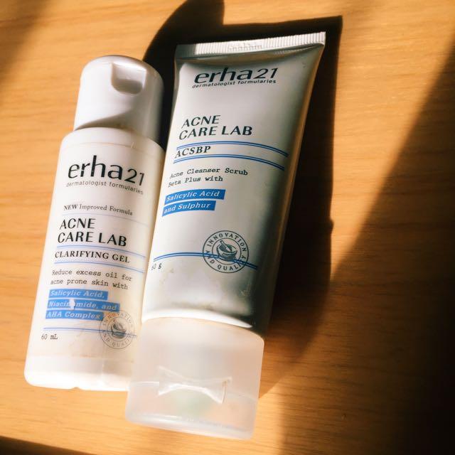 Erha Acne Skincare Jerawat