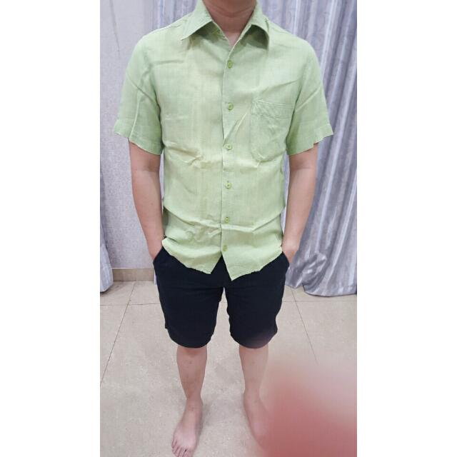 Et Cetera Light Green Shirt