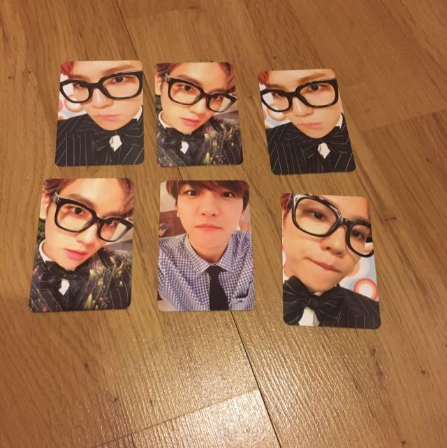Exo Baekhyun Official Photocard / Official PC