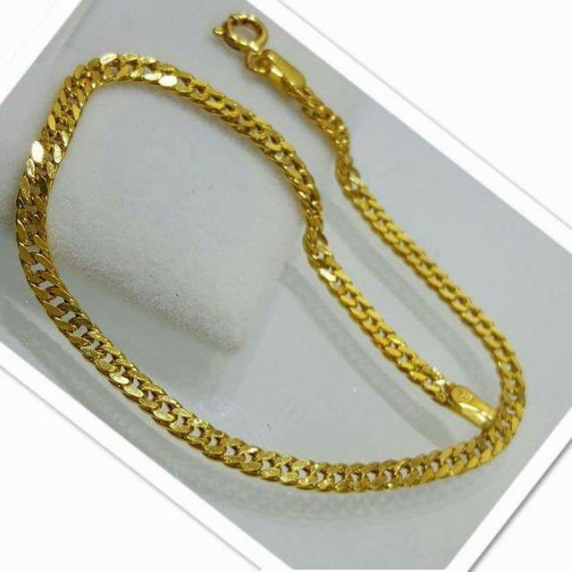 fine artworks womens yellow bracelet trencheff shop solid gold link chain