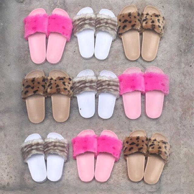 Givenchy Fur Sandals