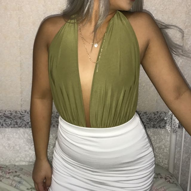 Green/ Olive Body Suit