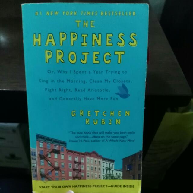 Happiness Project by Gretchen Rubin
