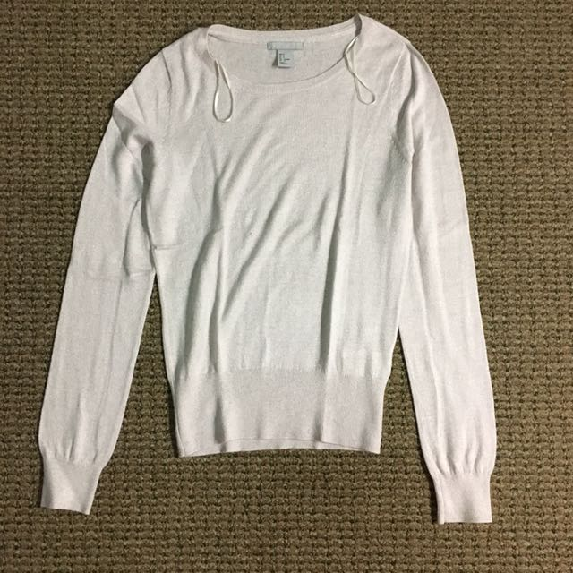 H&M: Lilac Sweater