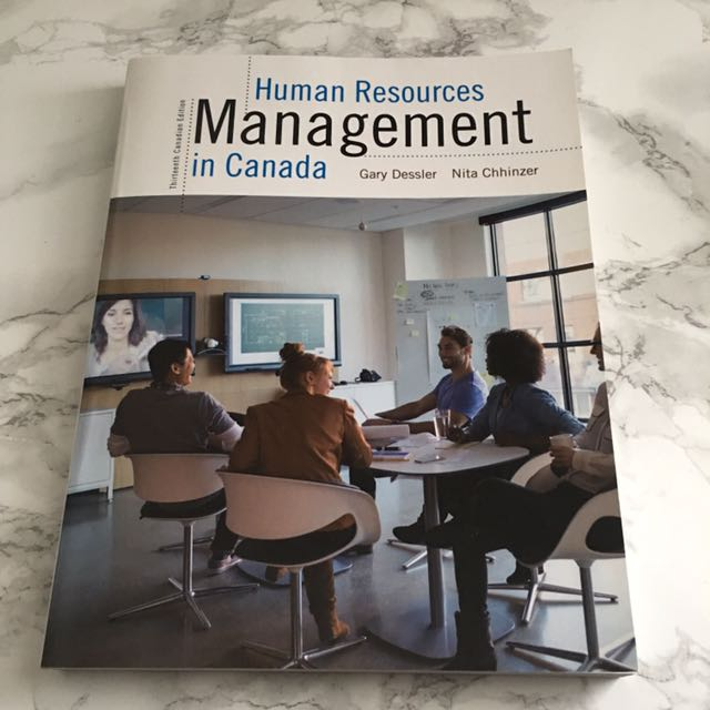 Human Resources Management In Canada (MHR 523)