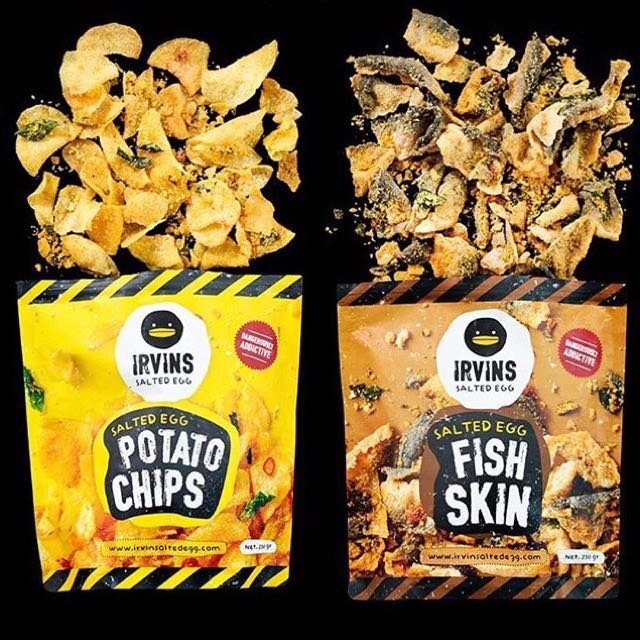 [CLOSED] Irvin's Salted Egg Fish Skin/Potato Chips