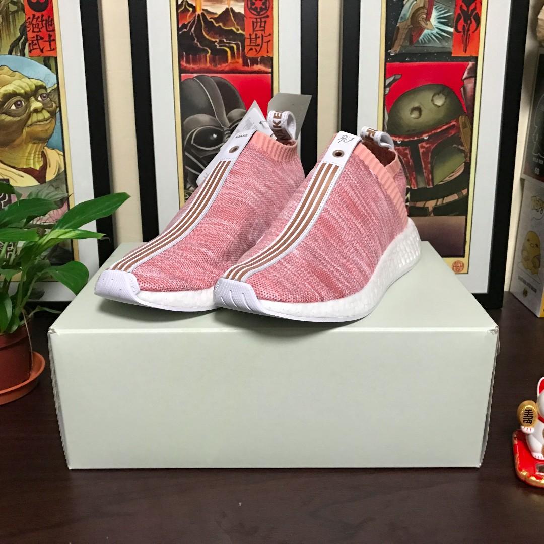 Kith x Naked x adidas NMD City Sock 2 Pink UK 6.5 US7