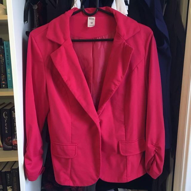 Kmart Red Blazer size 12